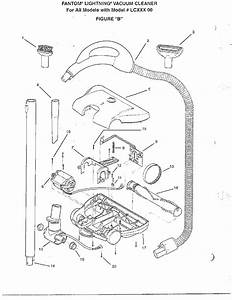 Vacuum Cleaner  Wiring Diagram Diagram  U0026 Parts List For