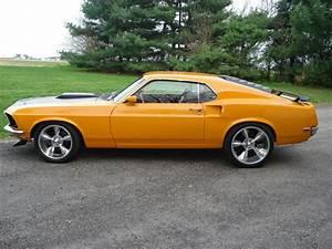 1969 Ford Mustang Fastback 351 Cobra Jet Grabber Orange ~ For Sale American Muscle Cars