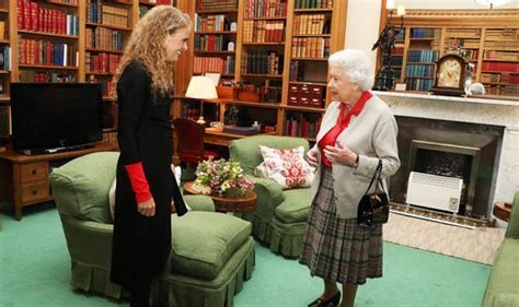 Queen's library: A rare glimpse inside Royal home of
