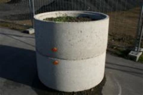 Schöne Blumentöpfe Für Drinnen by Betonringe Als Blumentopf Bauunternehmen