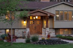 front porch designs for split level homes exterior traditional exterior minneapolis by construction design inc