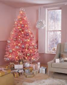 whispered whimsy vintage there will be a pink christmas tree