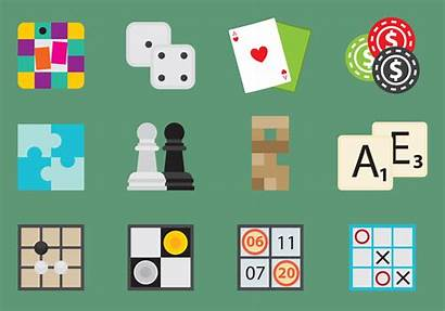 Board Games Icons Vector Icon Clipart Svg