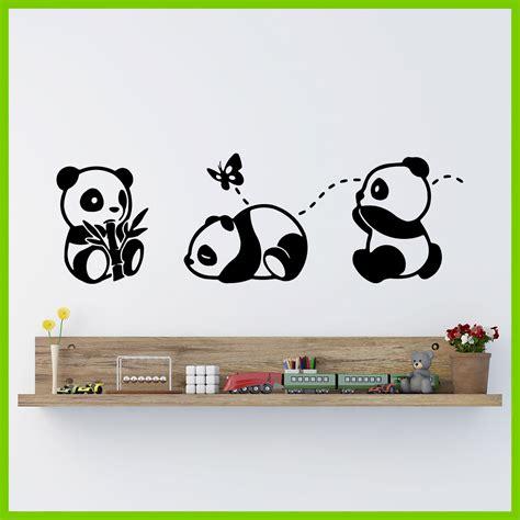tusadhesivos vinilo de ositos panda vinilo de ositos panda tus adhesivos