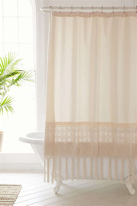 bohemian shower curtain bohemian style shower curtains hgtv s decorating
