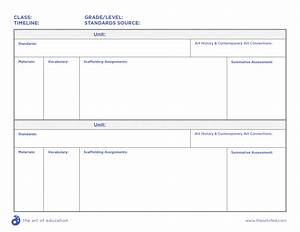 comprehensive curriculum examples for every age level With blank curriculum template