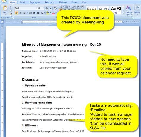 meeting minutes  agenda  docx format