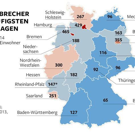 In Deutschland by Einbruchszahlen Steigen Besonders In Den Stadtstaaten Welt