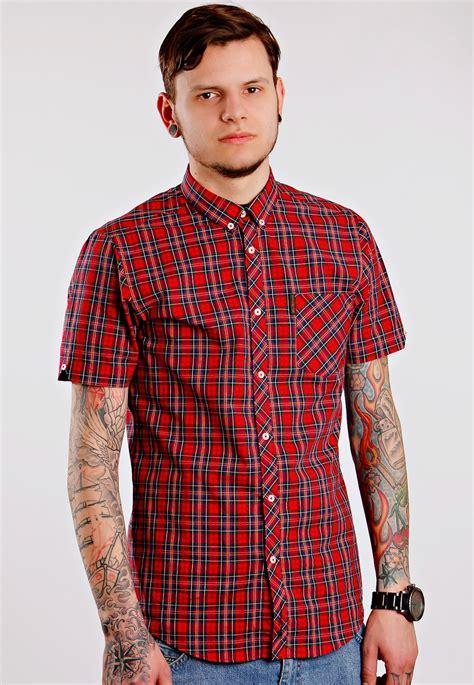 ben sherman shirt s s sparkling shirt streetwear
