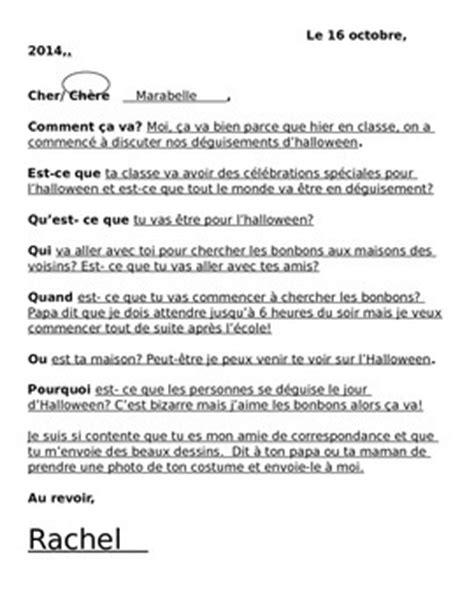 french  pal letter writi  la classe de francais