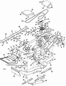 The Mower Shop  Inc 329b 2015 Deck Assembly 61 Inch