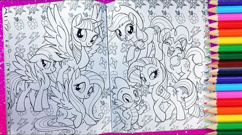 My Little Pony Coloring Activity Book Mlp Movie Coloring
