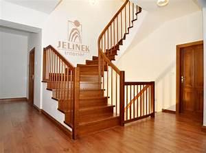 Dřevěné zábradlí na schodiště cena