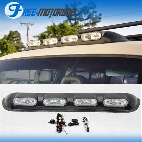 off road running lights clear 4x4 off road truck pickup roof off road top oval