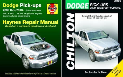 haynes chilton update 4th gen dodge ram repair manuals haynes chilton update 4th gen dodge ram repair manuals