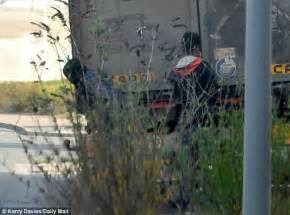 Driver spat at and pelted with rocks by migrants in Calais ...