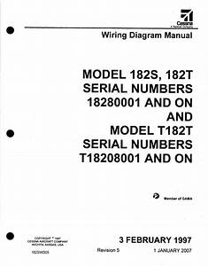 Cessna 182 Wiring Diagram Electrical Manual 182s 182t