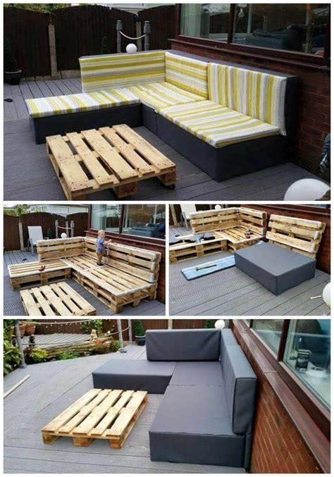 diy pallet upholstered sectional sofa tutorial easy