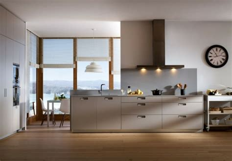 cuisine facade bois cuisine taupe 51 suggestions charmantes et très tendance