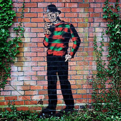 art graffiti movies horror artwork street art spray paint