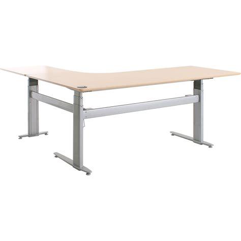 conset desk 501 27 shop conset 501 27 laminate electric sit stand desks