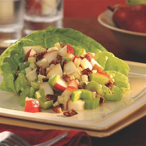 celery salad recipes crunchy pear celery salad recipe eatingwell