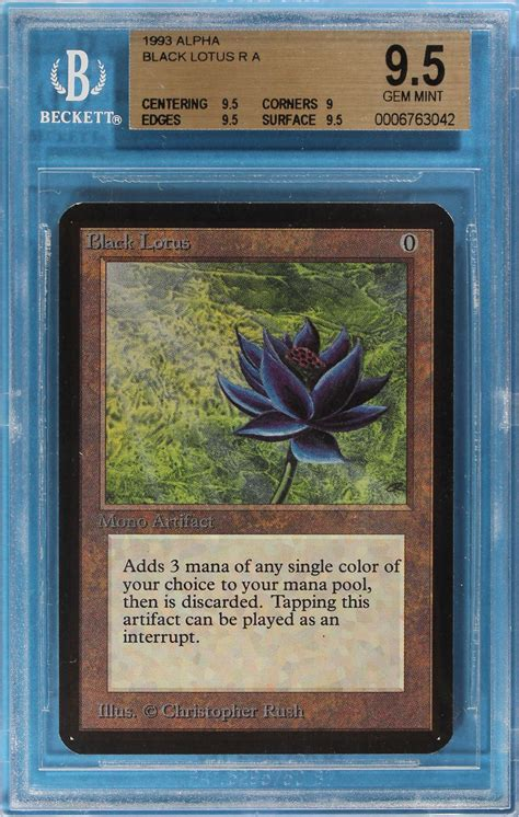 Tarihin En Pahal� Magic Kart� Sat�ld�  Alpha Black Lotus