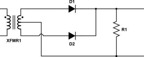 full wave rectifier  full wave bridge rectifier