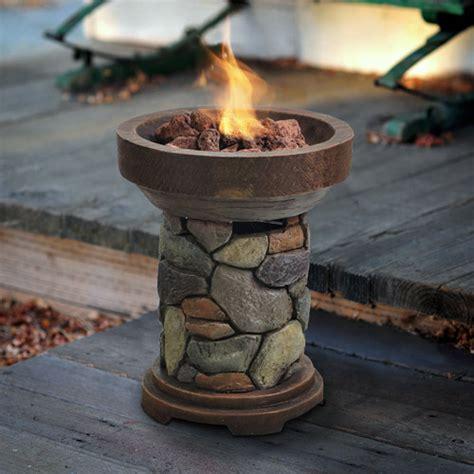 tabletop fire pit  smores design  ideas