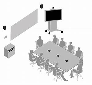 Corporate Boardroom Setup With Microflex Boundary