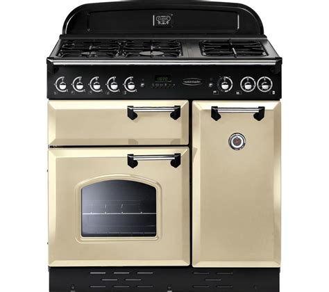 buy rangemaster classic 90 dual fuel range cooker chrome free delivery currys