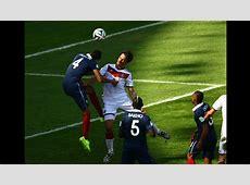 Francia vs Alemania revive en imágenes el gol de Mats