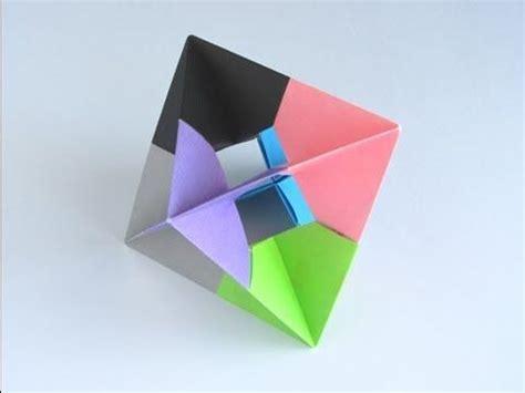 origami spinne falten origami modular spinner folding crafty origami geometrische origami