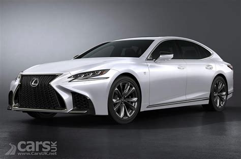 sporty lexus sedan 2018 lexus ls f sport revealed as the sporty side of lexus