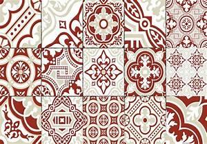 Set De Table Carreau De Ciment : set de table carreaux de ciment madeleine brique ~ Teatrodelosmanantiales.com Idées de Décoration