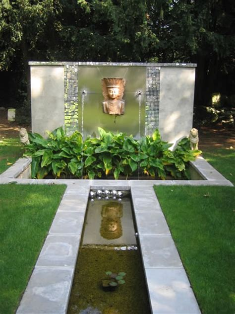 water rill design a city garden with water rill