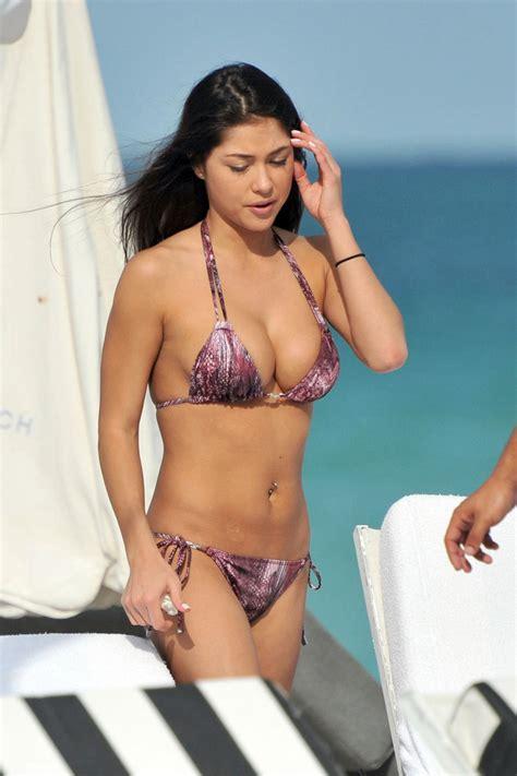 arianny celeste bikini  miami  gotceleb