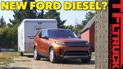 How Will A Ford F150 Diesel Tow? We Test A Land Rover