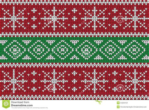 Christmas seamless ornament for knit clothes, card. Christmas Sweater Design. Seamless Pattern Stock Vector ...