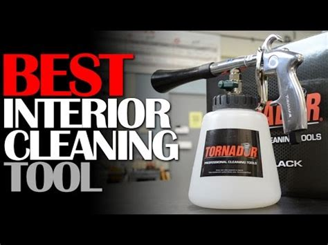 Best Vehicle Upholstery Cleaner by Best Car Interior Cleaning Tool
