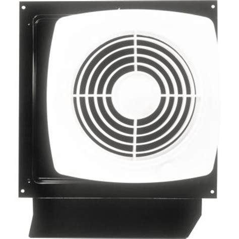 wall fans home depot null 180 cfm through the wall exhaust fan with on off switch
