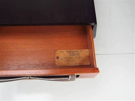 28073 furniture side tables 183605 brown saltman nightstands attributed to paul laszlo circa