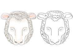 sheep mask images sheep mask mask  kids sheep