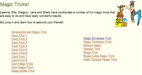 magic tricks for top 10 websites to learn amazing magic tricks for free