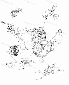 Polaris Atv 2003 Oem Parts Diagram For Engine Mounting