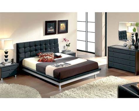 modern bedroom set  black   spain
