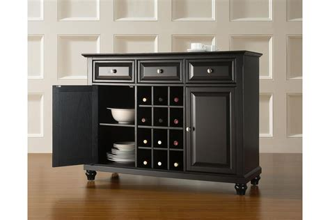Wine Sideboard by Cambridge Buffet Server Sideboard Cabinet With Wine