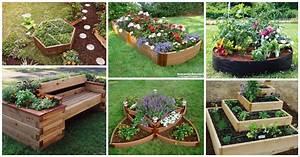 15+ Impressive DIY Flower Beds For Your Garden