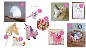 Decoration Licorne Chambre : des licornes dans la chambre des enfants ~ Teatrodelosmanantiales.com Idées de Décoration