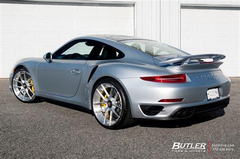 custom porsche 911 turbo porsche 911 turbo s on custom 21in center lock niche targa